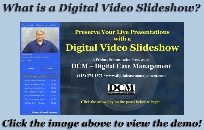 Digital Video Slideshow